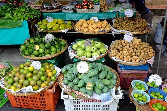 タイ市場キロ売果物